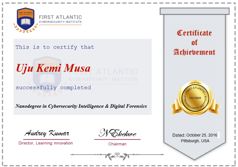 facyber-certificate-sample