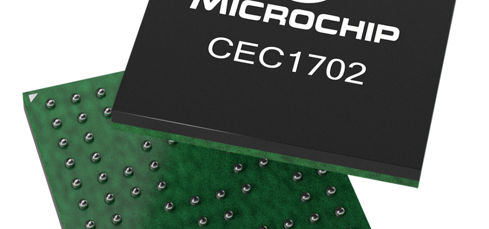 Microchip pioneers smart, connected and secure solutions with hardware cryptography-enabled microcontroller