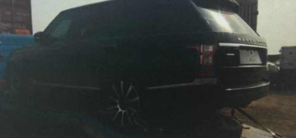 Senate President Saraki's Bulletproof Range Rover Documents Seized By Nigerian Customs