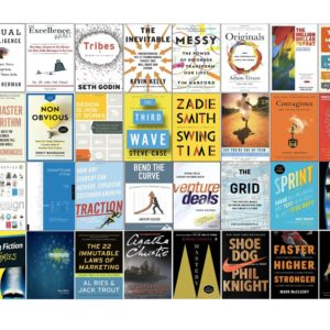 I Read 40 Books In 2016, Here's What I Learned (aka 10 Lessons for 2017)