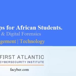Nanodegree Cybersecurity $2000 Scholarships for African Students