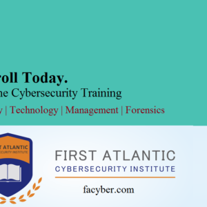 Enroll for Cybersecurity courses on Policy, Management, Tech & Digital Forensics