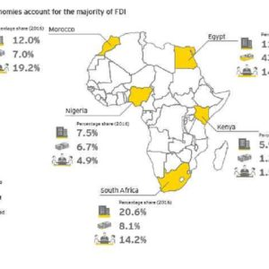 These are the 5 African countries driving investment activities